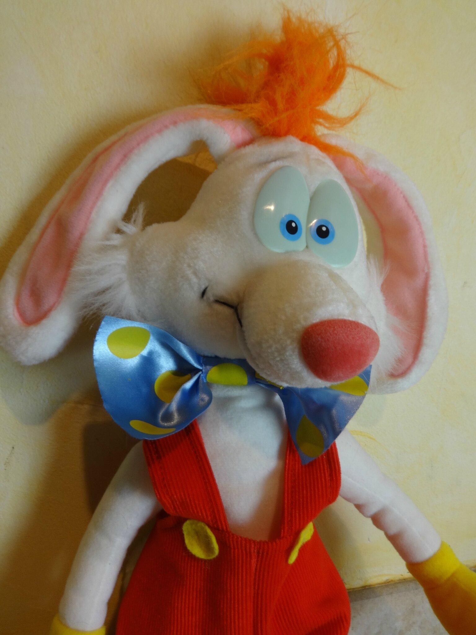 Cu1026 : Peluche Roger Rabbit - P'Tit Cochon Pendu Au Plafond serapportantà Jeux De Cochon Pendu