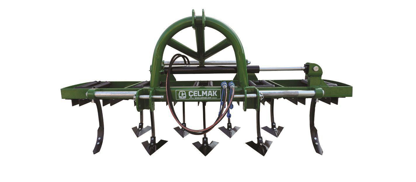 Cultivateur Porté - Slide Hydraulic Piston Cultivator avec Largeur Traduction Anglais