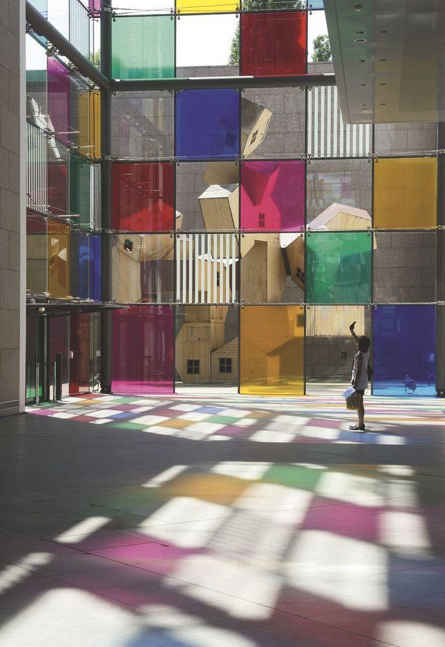 Daniel Buren À Strasbourg, Au Musée D'Art Moderne Et dedans Musée D Art Moderne Strasbourg Horaires