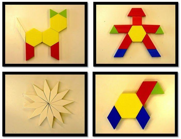 Dans Ma Classe J'Ai Différents Jeux Qui Permettent De tout Regle Forme Geometrique