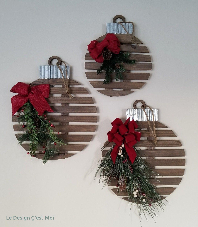 Decoration De Noel Pour Exterieur A Faire Soi Meme - L'Ile à Fabriquer Un Renne De Noel Exterieur