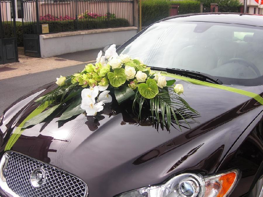 Décoration Voiture Mariage Fleurs - U Car 33 tout Deco Voiture Mariage Invités