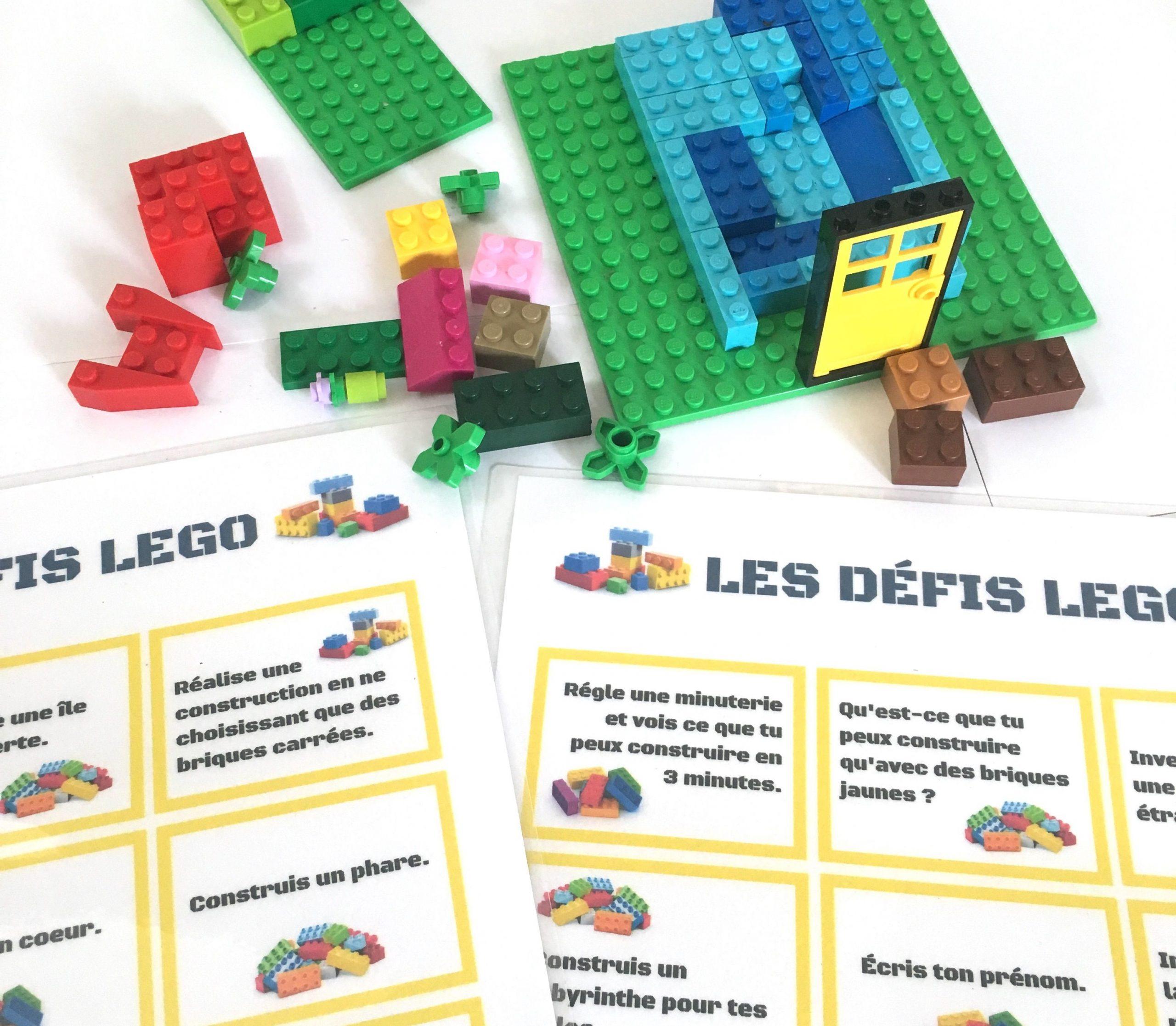 Défis Lego À Imprimer : 30 Idées À Réaliser Seul Ou À avec Exemple De Jeux