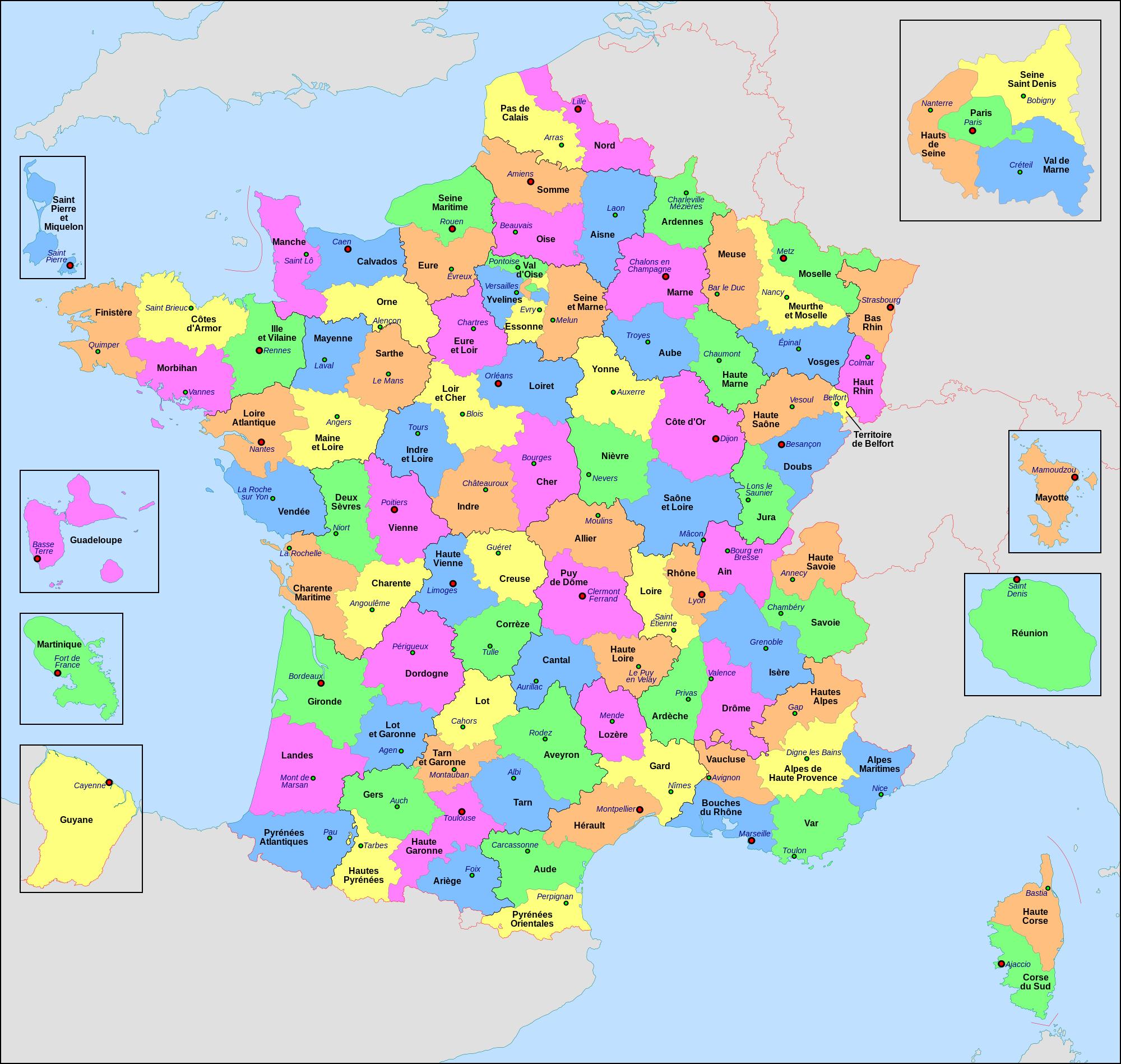 Départements De France - Arts Et Voyages encequiconcerne Listes Des Départements De France