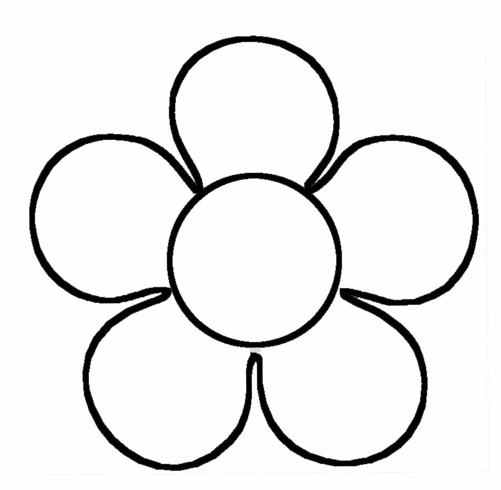 Des Feurs En Papier   Gabarit Fleur, Coloriage Printemps pour Coloriage Fleurs Printemps