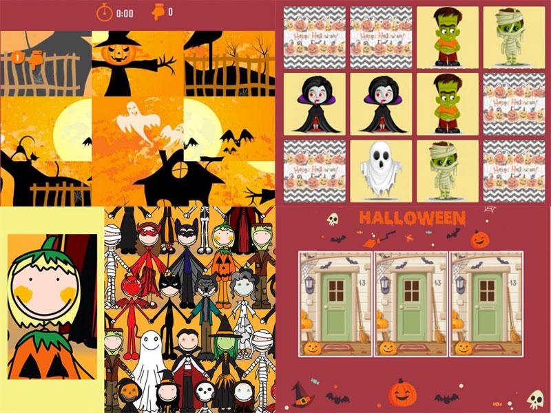 Des Jeux Pour Frissonner À Halloween tout Jeux Pour Halloween