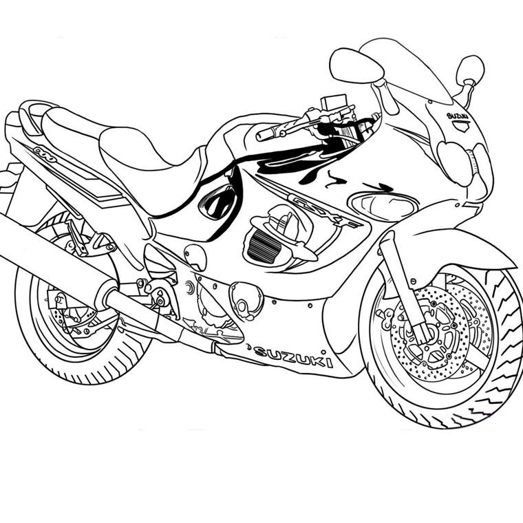 Dessin À Imprimer: Dessin De Moto Gp A Imprimer encequiconcerne Coloriage Moto De Course À Imprimer