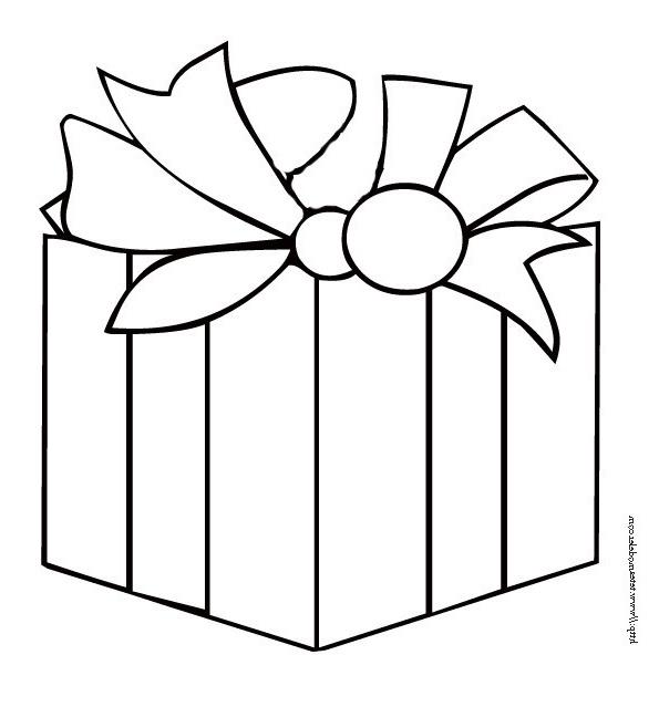Dessin Cadeau De Noel - Greatestcoloringbook destiné Dessin Cadeau De Noel
