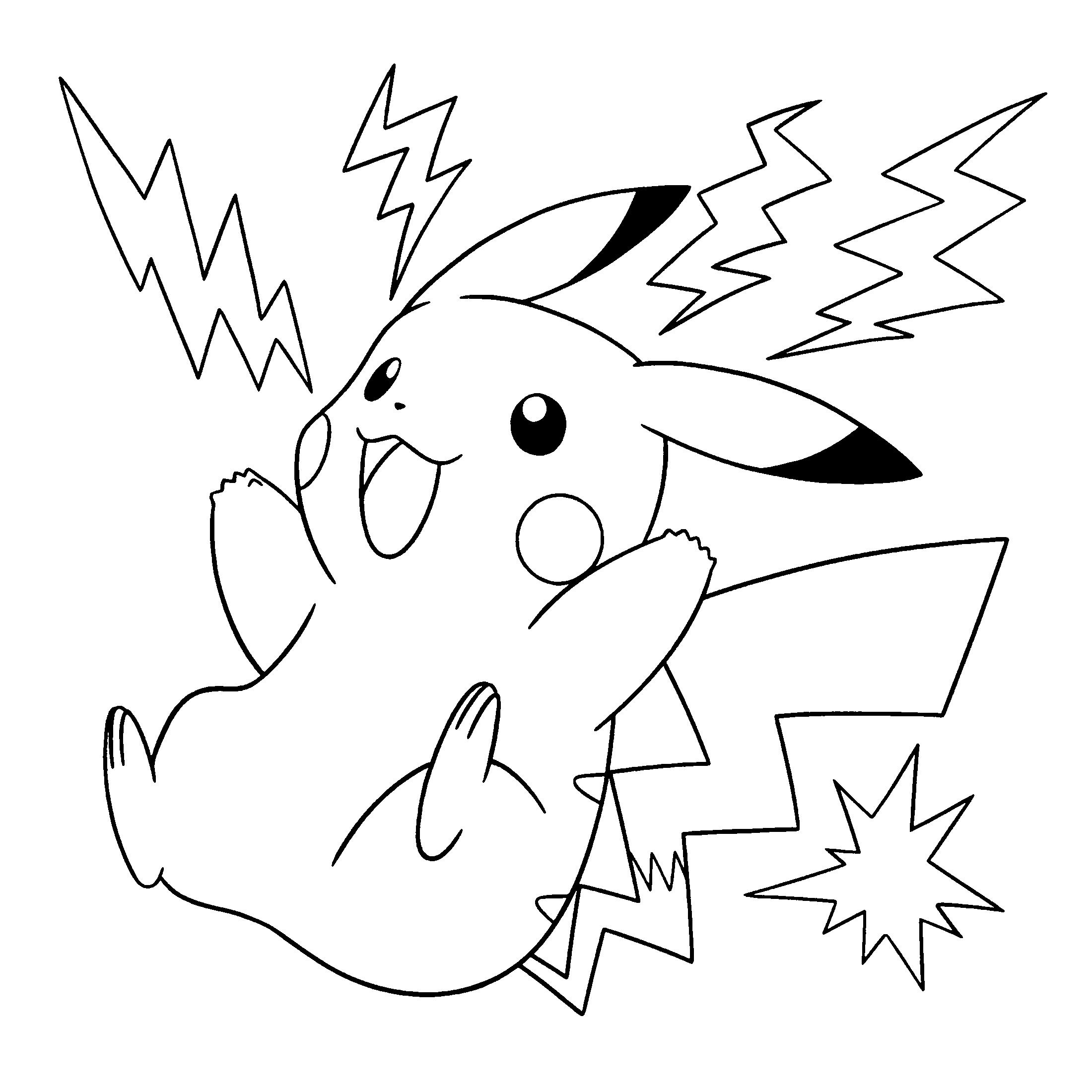 Dessin De Pikachu Facile - Primanyc tout Dessin Facile Pikachu