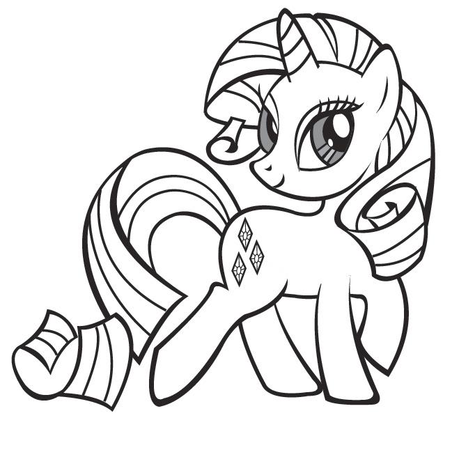 Dessins En Couleurs À Imprimer : Poney, Numéro : 336921 concernant Dessin Petit Poney A Colorier