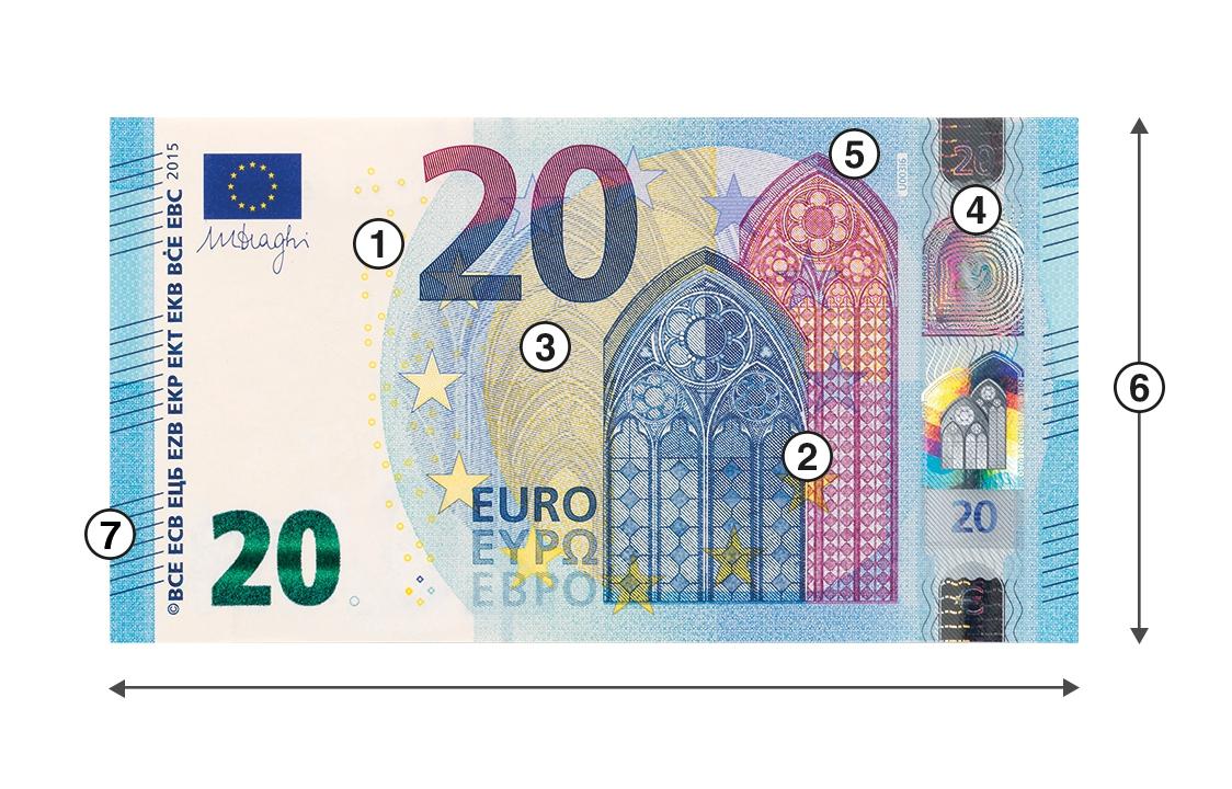Détection De Faux Billets Destiné Pièces Euros À Imprimer intérieur Billet Euro A Imprimer