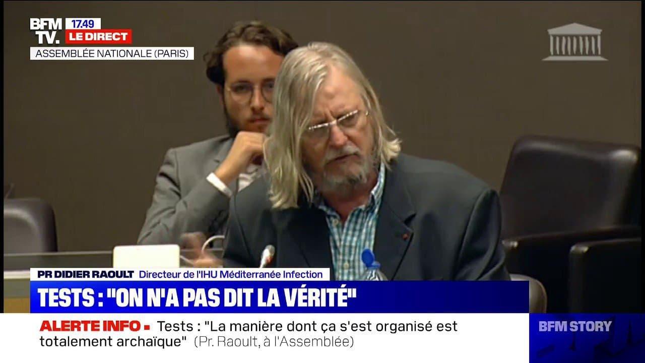 """Didier Raoult : """"Pourquoi Je Ne Suis Pas Resté Au Conseil destiné Pourquoi Le Replay Ne Fonctionne Pas"""