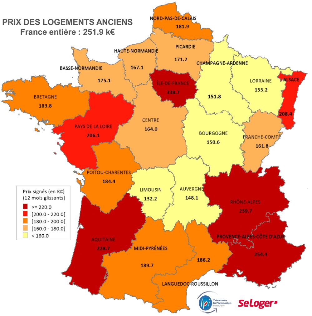 « Dis-Moi Où Tu Veux Habiter, Je Te Dirai Combien Te intérieur Combien De Region En France