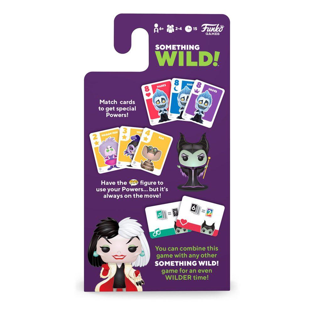 Disney Villains Carton De 4 Jeux De Cartes Something Wild avec Jeu De Carte En Anglais