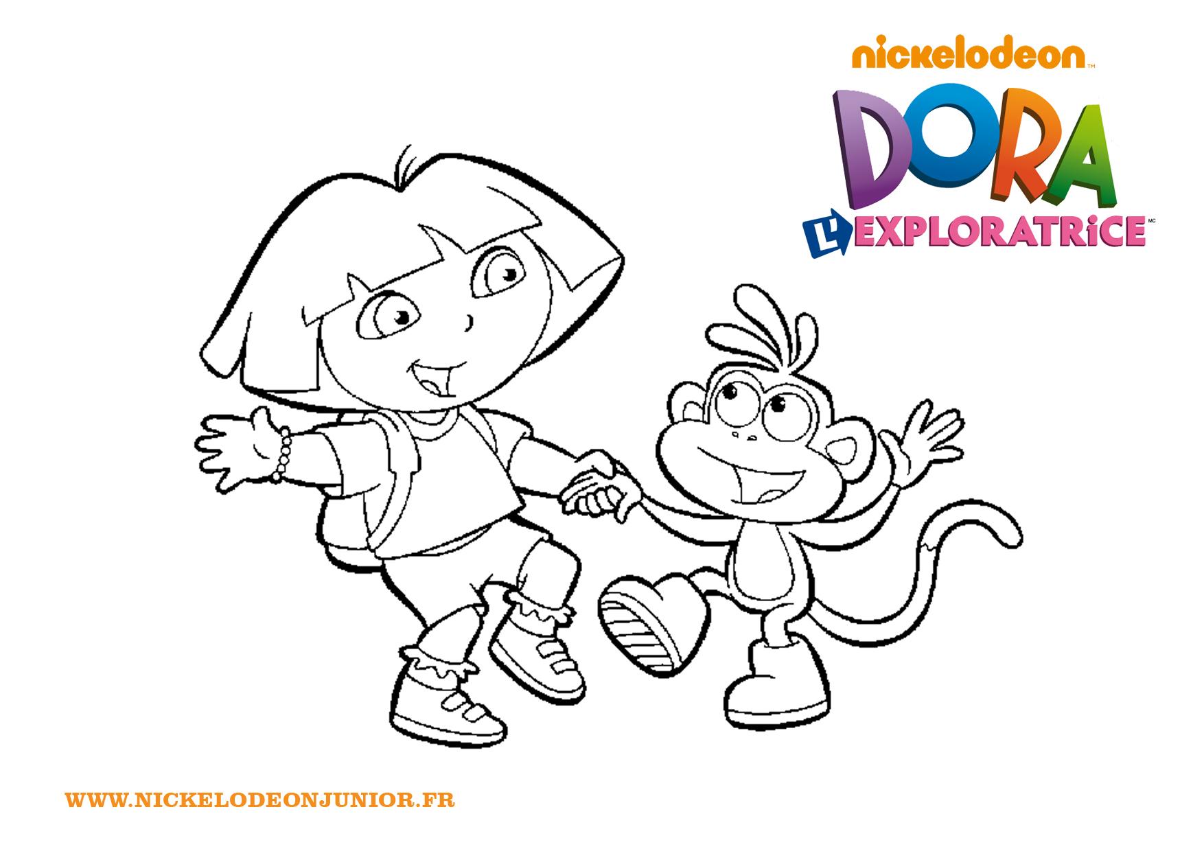 Dora Danse Avec Babouche - Zimmpel concernant Dessin Animé Dora Et Babouche