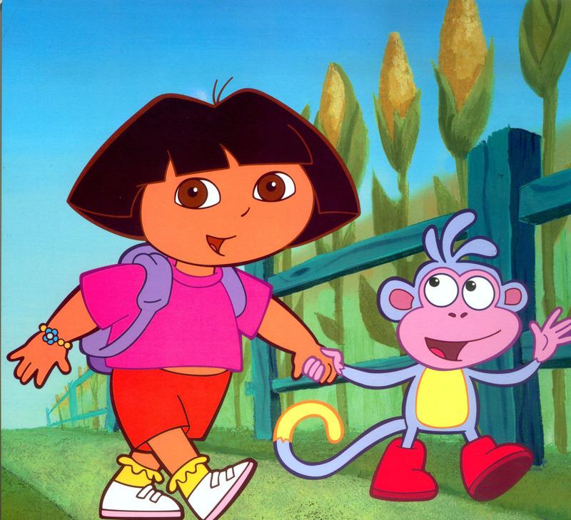 Dora L'Exploratrice Dessin Animé 2012 - Télé Star avec Dora Et Babouche En Francais