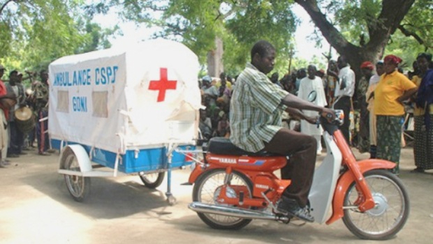 Dr Congo: The Motorcycle-Ambulance That Saves Lives In avec Moto Ambulance