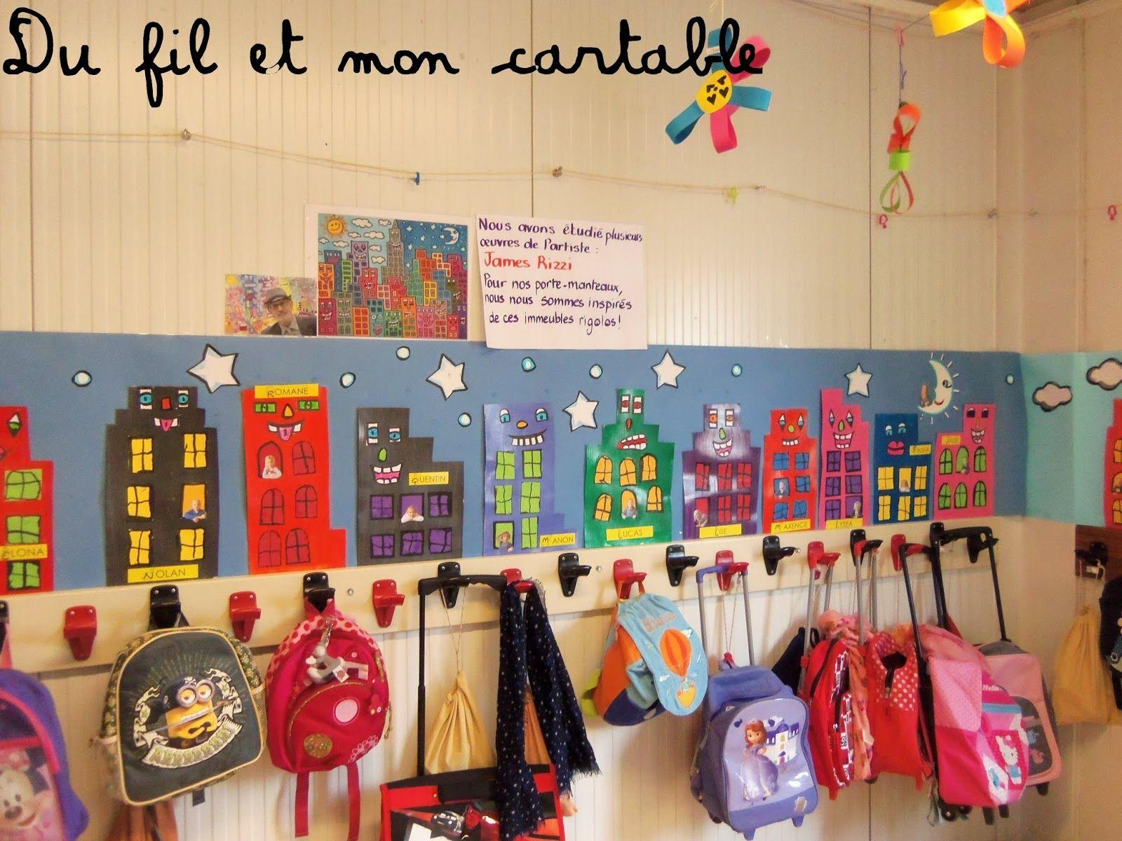 Du Fil Et Mon Cartable | Decoration Porte, Étiquette Porte concernant Décoration Porte Manteau Maternelle