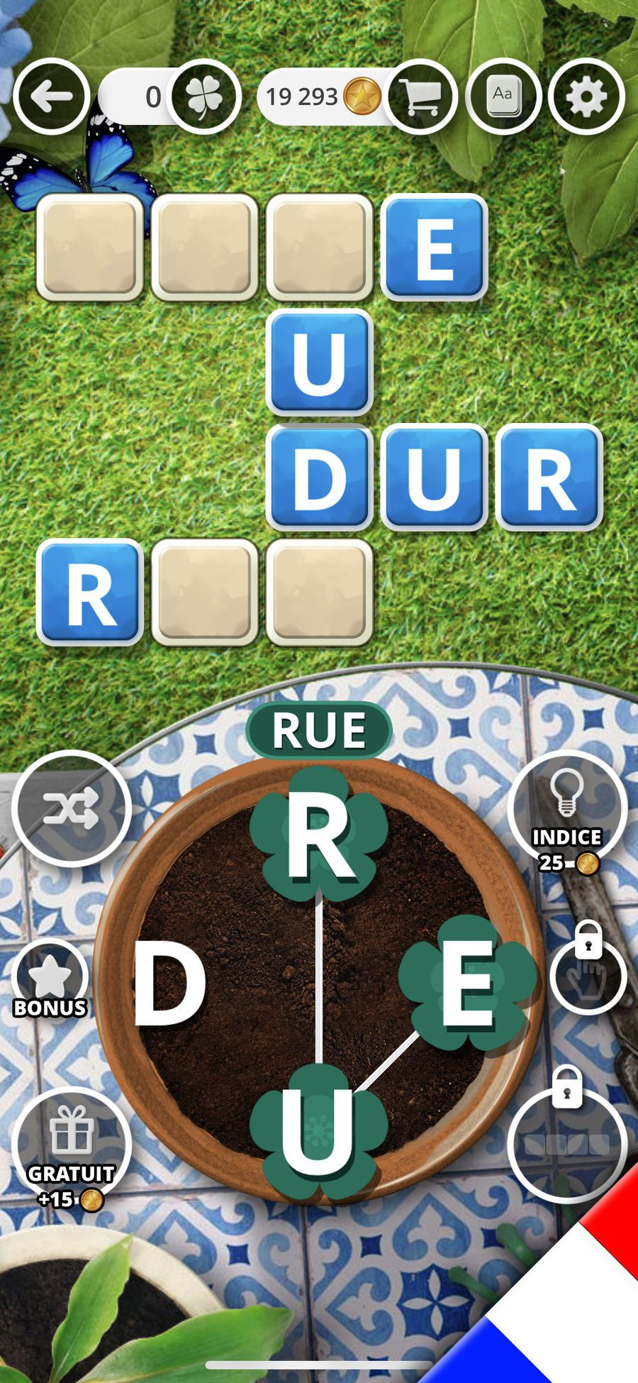 Jardin Des Mots Dans L'App Store à Jeux De Lettres Gratuit En Francais