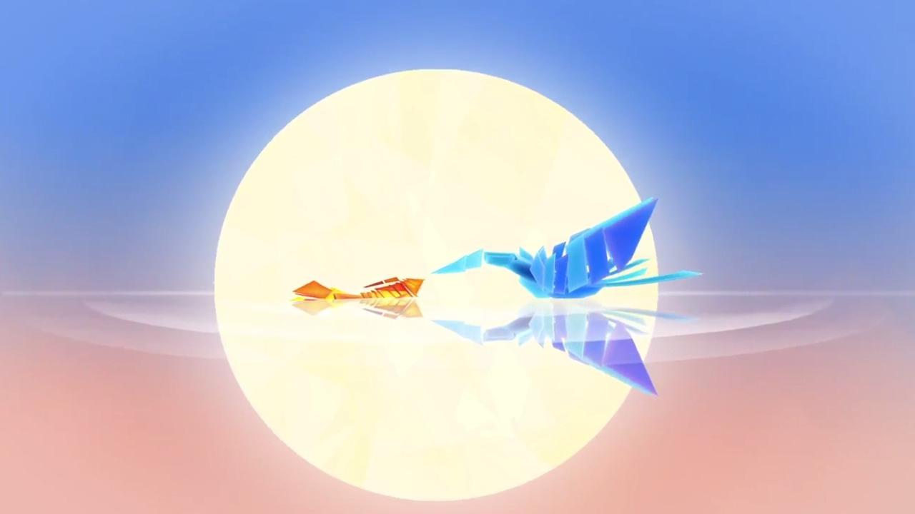 » E3 2014 : Entwined, Le Poisson Et L'Oiseau pour Le Jeu Du Poisson Bleu