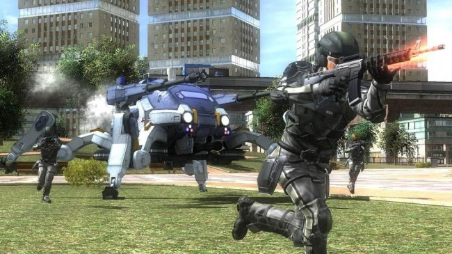 Earth Defense Force 4.1: The Shadow Of New Despair - Ps4 concernant Jeu Force 4