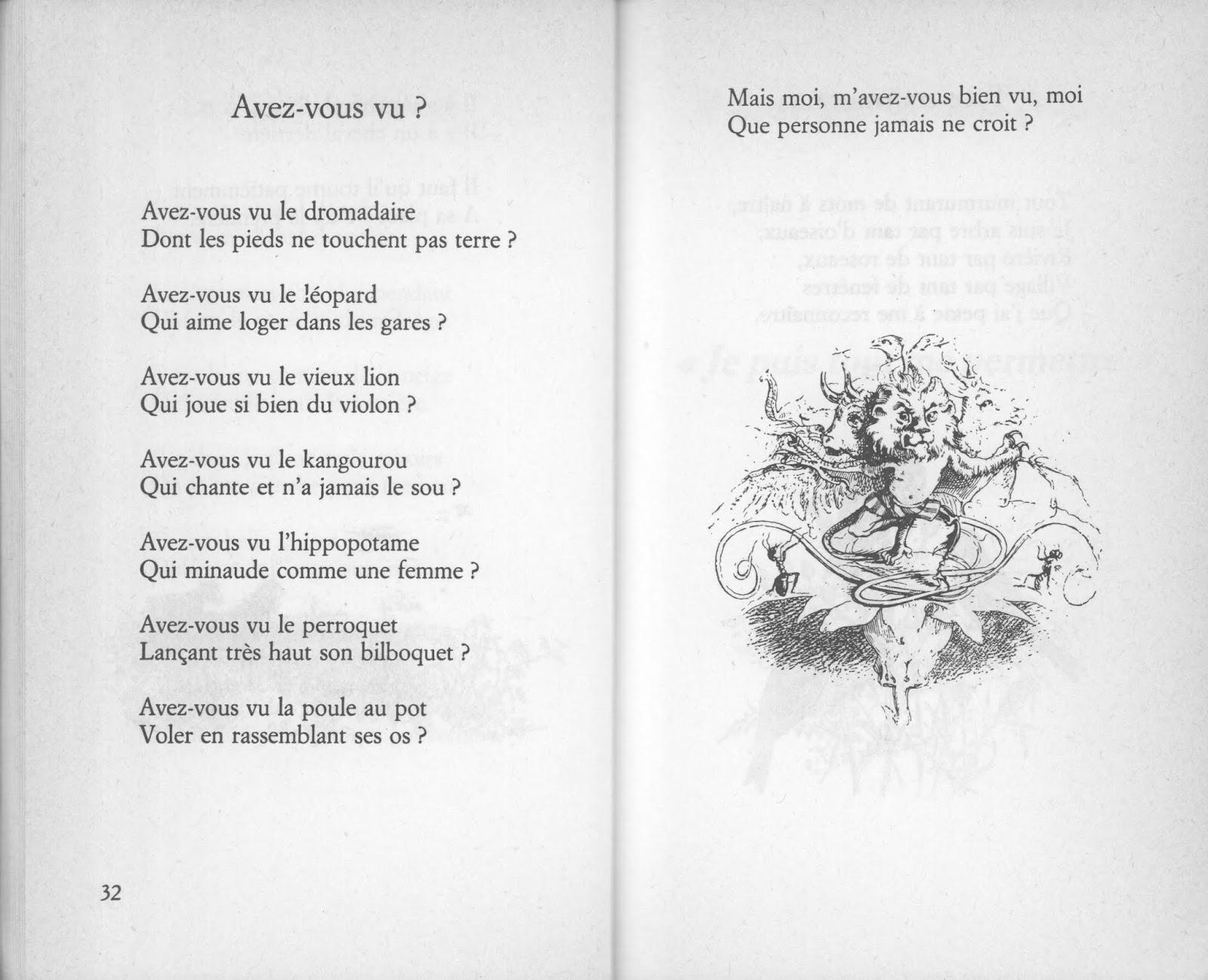 École : Références: Les Plus Beaux Poèmes De Maurice encequiconcerne Poeme Maurice Careme