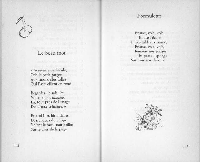École : Références: Les Plus Beaux Poèmes De Maurice serapportantà Poeme Maurice Careme