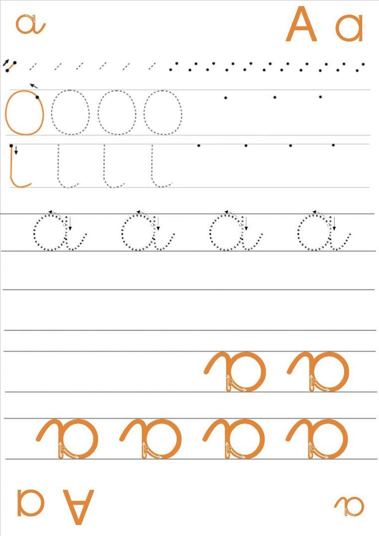 Écrire L'Alphabet: Apprendre À Écrire La Lettre T intérieur T Majuscule En Cursive