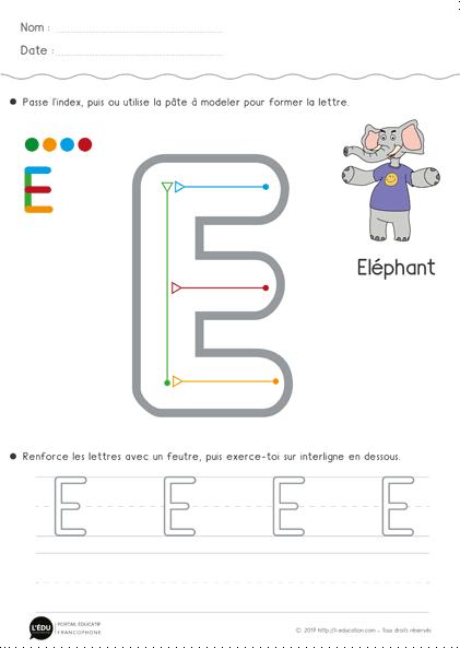 Écriture Maternelle Moyenne Section | Apprendre À Écrire En Ms pour Apprendre À Écrire L Alphabet En Maternelle