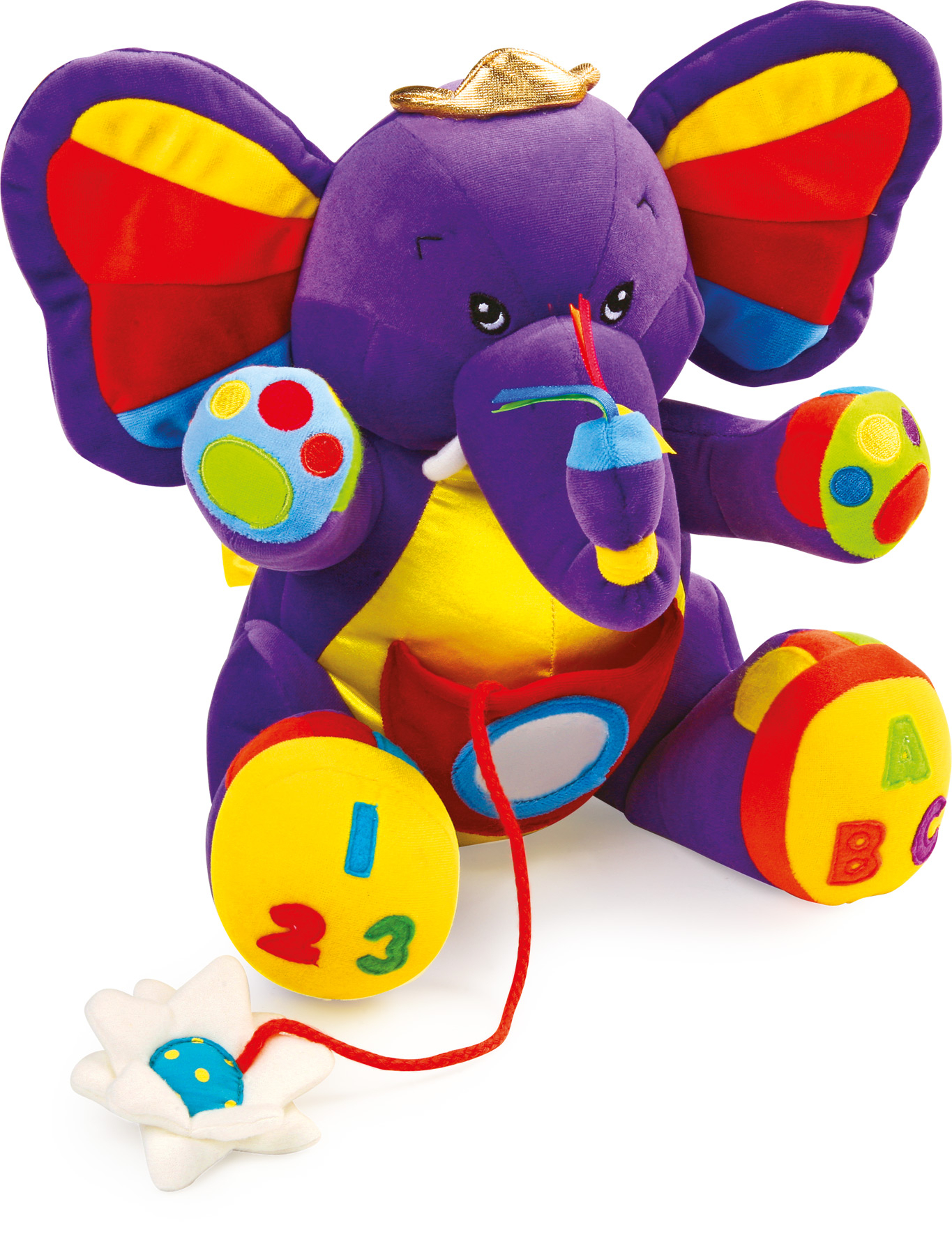 Éléphant «Lili» - Jouets En Tissu - Jouets Pour Bébé intérieur Jeux Bebe Lili