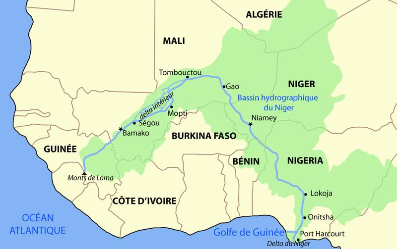 Enfants Des Rues Au Mali: Bamako - Balade Sur Le Niger concernant Ou Se Trouve Le Nil