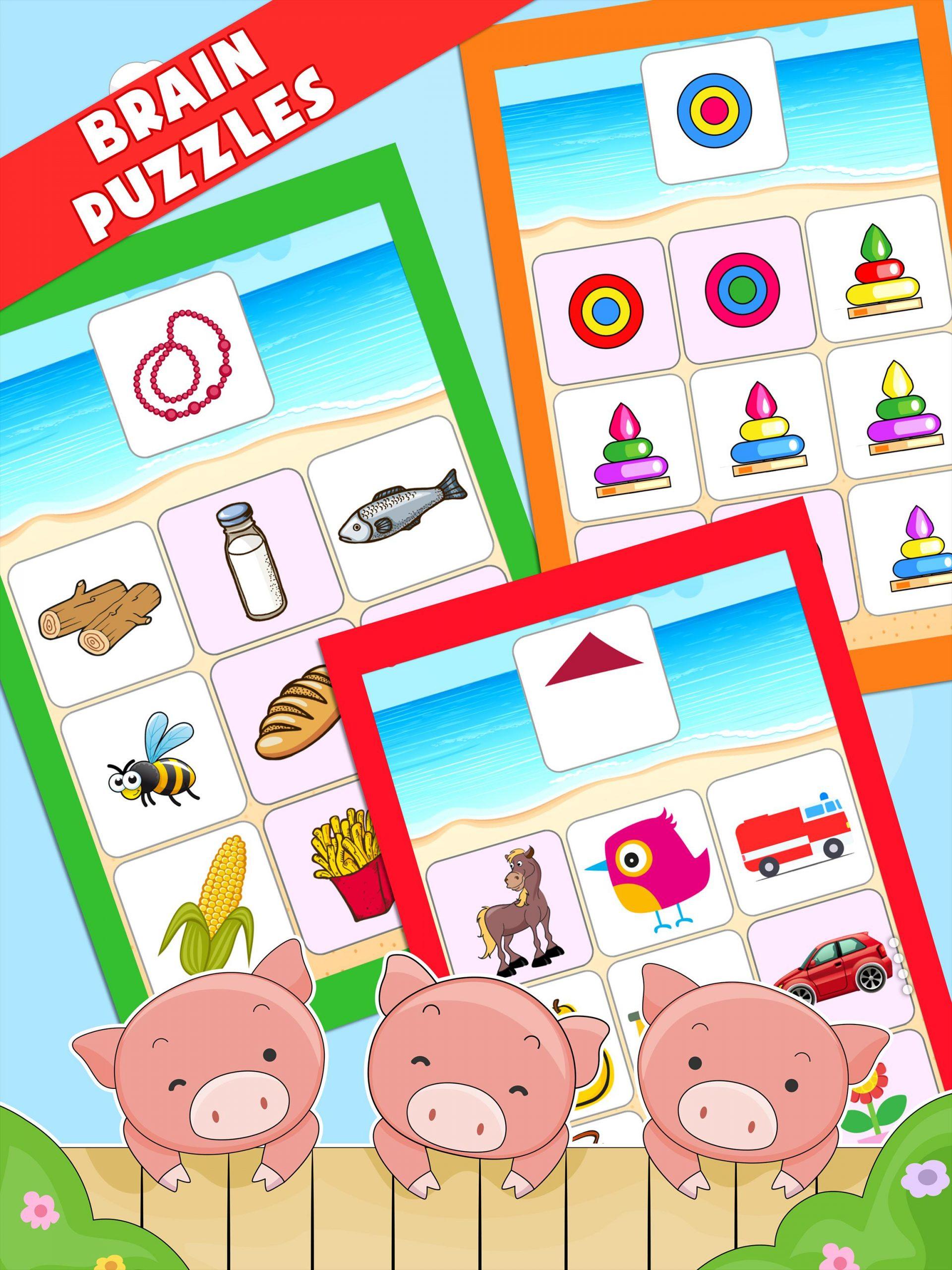 Enfants Jeux Éducatifs (Préscolaire) Pour Android encequiconcerne Jeux Educatif Enfant Gratuit