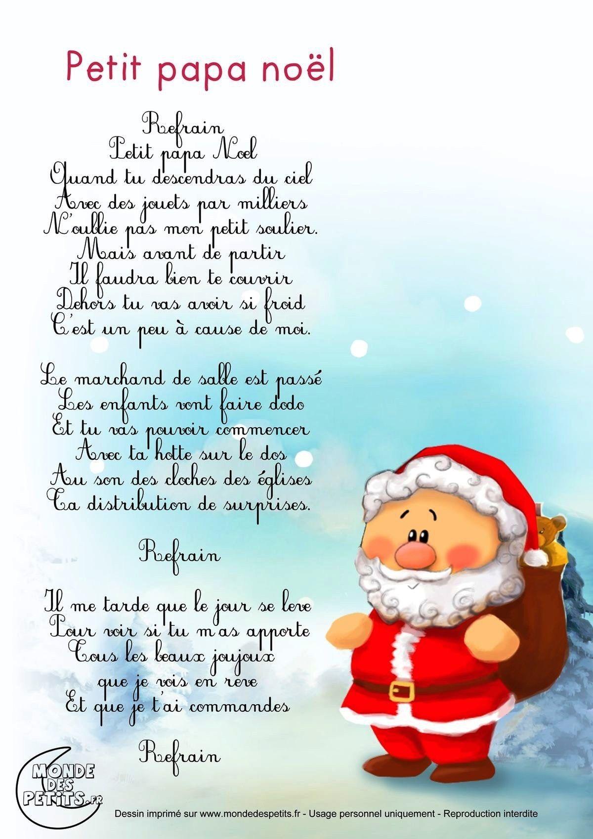 Épinglé Par Anne Peter Sur Anne P | Chanson De Noel dedans Petit Papa Noel Video