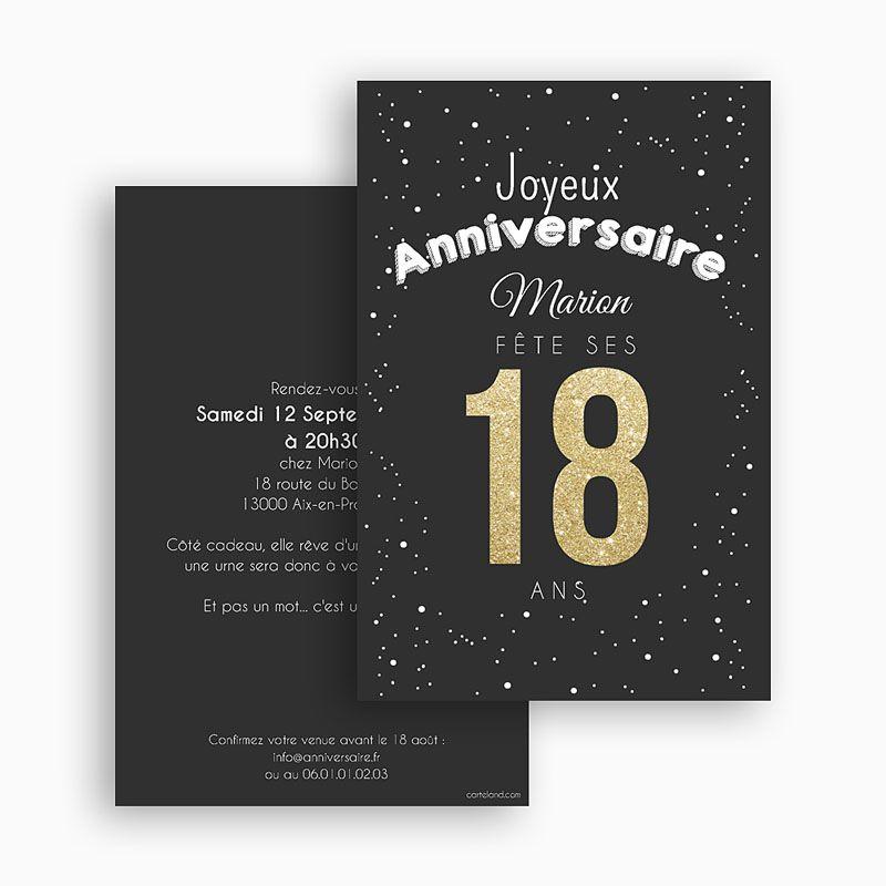 Épinglé Sur 18Ans pour Idee Invitation 30 Ans