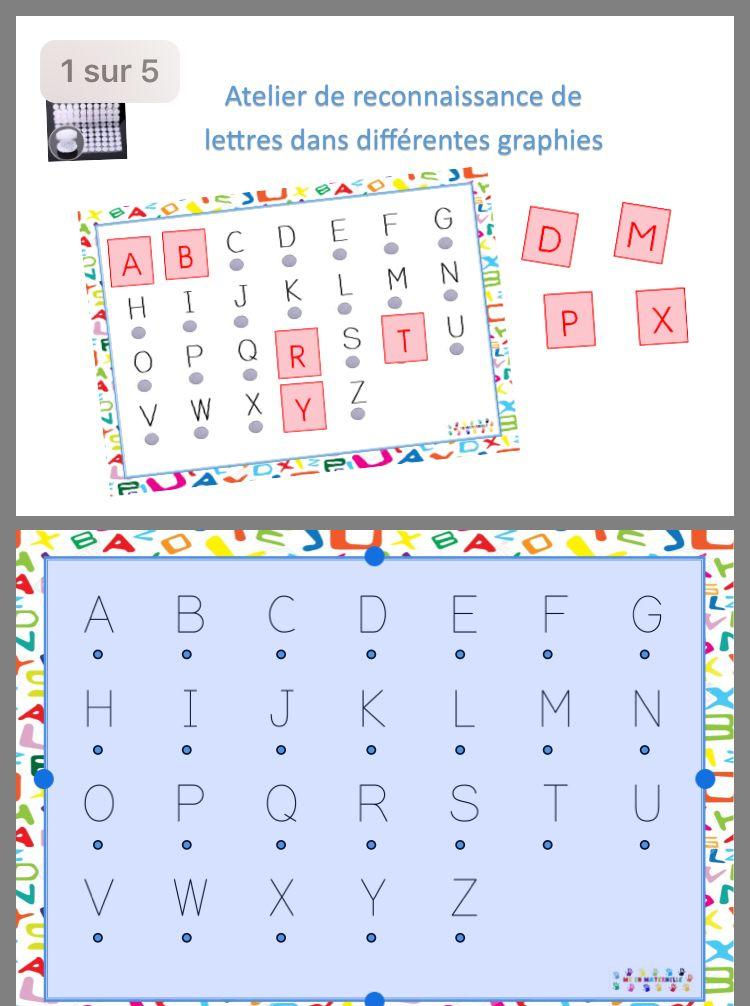 Épinglé Sur Abcd pour Jeux De Lettres Enfants