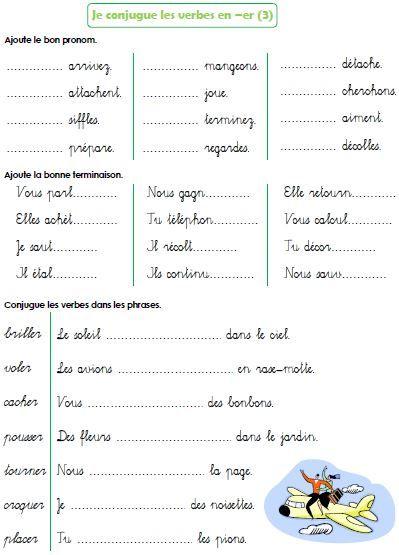 Épinglé Sur Ecole à Exercice De Francais Ce1 À Imprimer