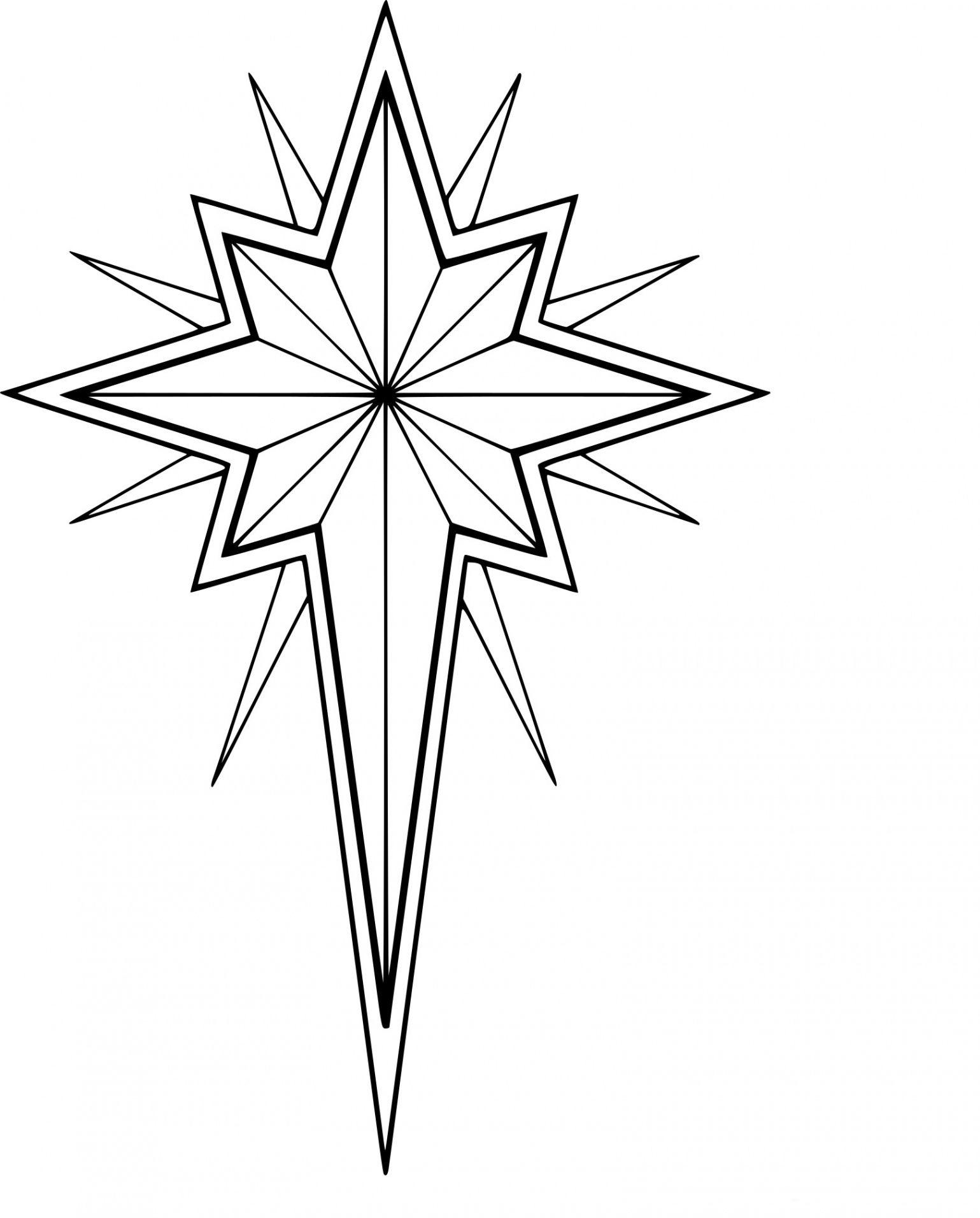 Etoile Dessin Noel   Etoile De Noel, Etoile Dessin destiné Decoupage Etoile De Noel