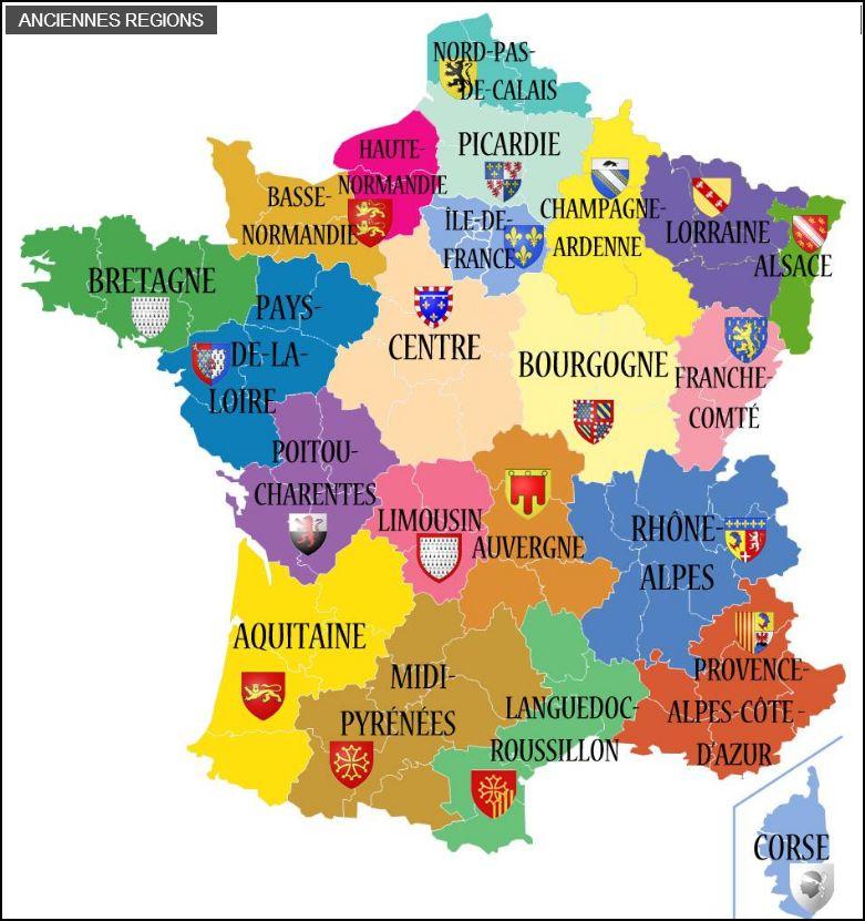 Excel :Créer Une Carte Interactive Sous Excel, Et Si La à Nouvelle Carte Des Régions De France