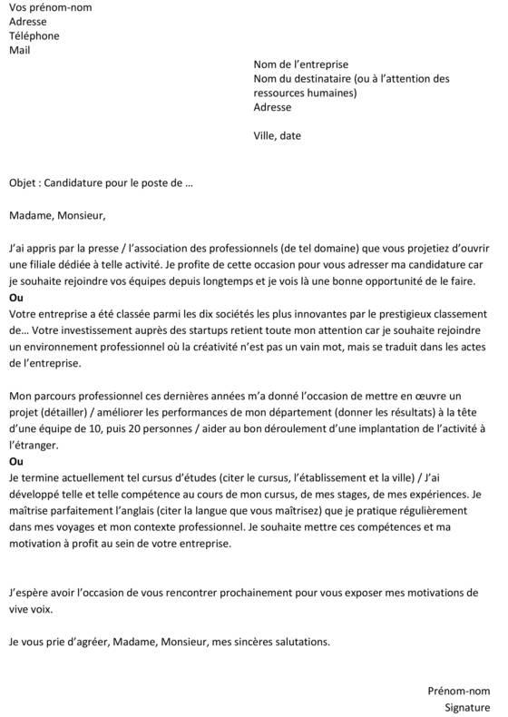 Exemple Lettre De Motivation Pour Un Emploi - Les Lettres serapportantà Travailler La Peau En 5 Lettres