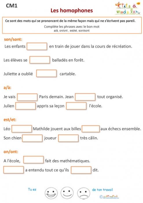 Exercice 1 De Grammaire Cm1 encequiconcerne Exercice Francais A Imprimer