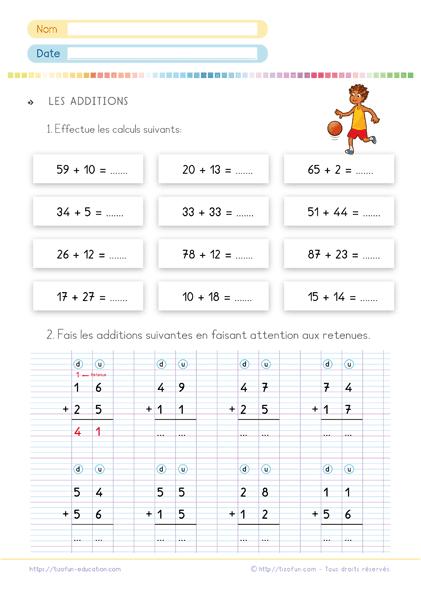 Exercices De Math Ce1 Pdf - Fiche D'Exercice De Math Ce1 À dedans Exercice Ce1 A Imprimer