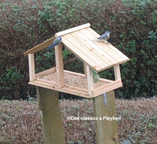 Fabrication De Mangeoire Pour Oiseaux Du Jardin intérieur Comment Faire Un Mangeoire Pour Oiseaux