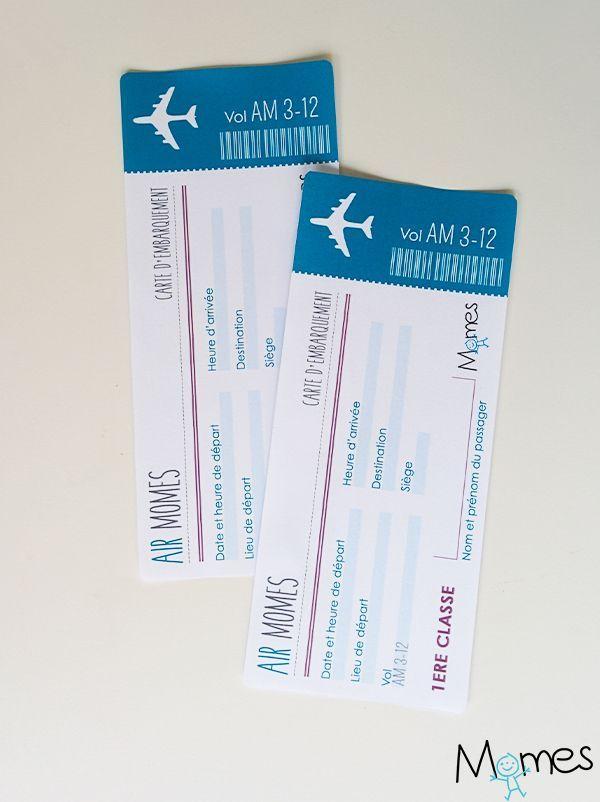 Faux Billet D'Avion À Imprimer - #À #Billet #Davion #Faux destiné Faux Billet A Imprimer