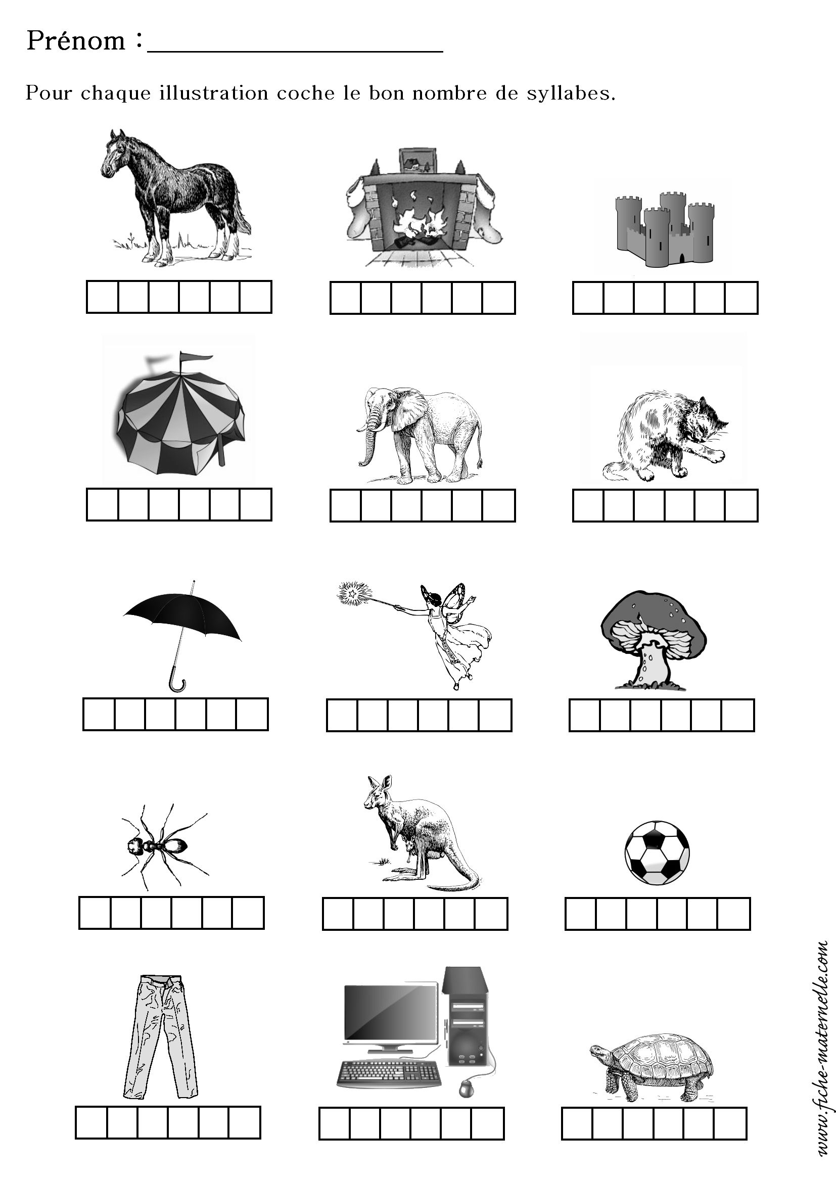 Fiche Exercice Grande Section - Greatestcoloringbook intérieur Exercices Grande Section Maternelle Pdf