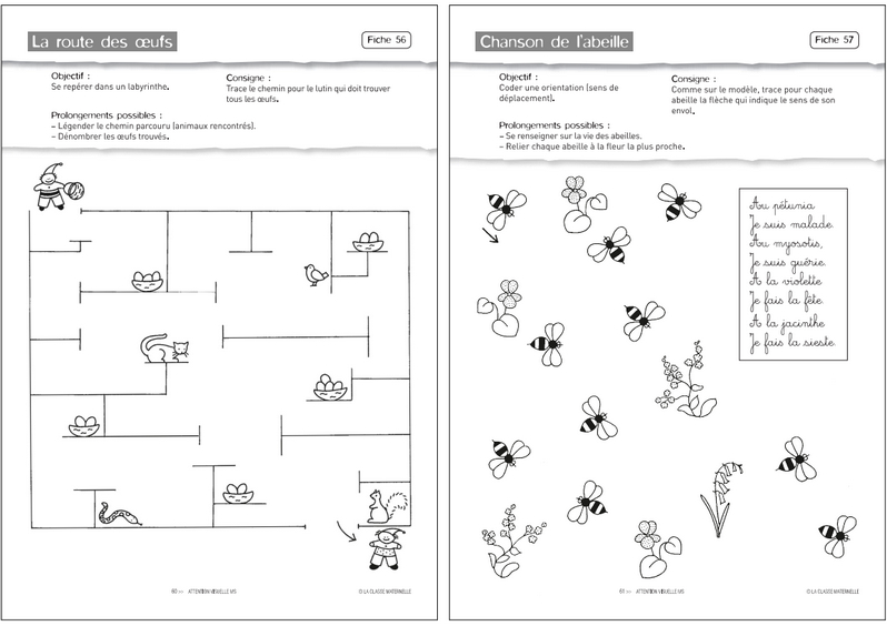 Fiches Moyenne Section Maternelle À Imprimer - Milestory serapportantà Exercice Grande Section Maternelle Gratuit A Imprimer