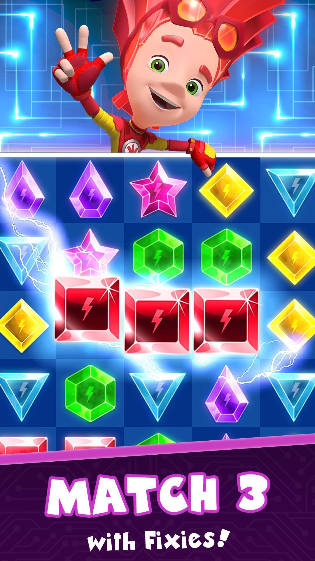Fixies Boom! Jeux Trois En Ligne Ok Enfants Puzzle Pour intérieur Puzzle Gratuit Enfant