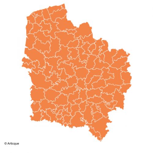 Fonds De Cartes Sig Des Zones D'Études Pour La Région tout Region De France 2017