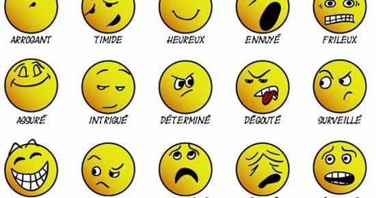 Français En 4º De La Eso: Apprenez À Exprimer Les Émotions intérieur Émotion Sentiment