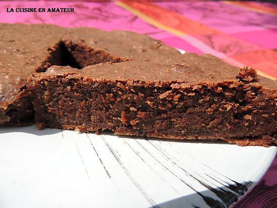 Gateau Au Chocolat Sans Oeuf Et Sans Farine - Les Desserts encequiconcerne Gateau Au Chocolat Au Lait Sans Oeuf