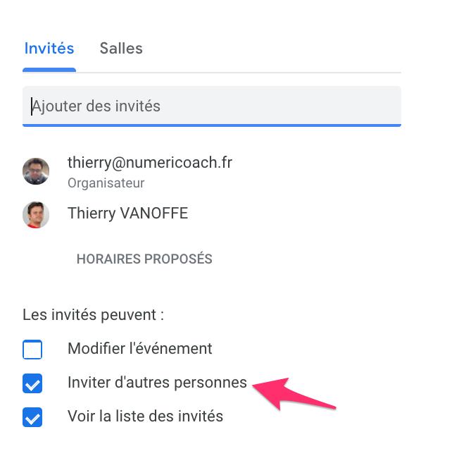 Google Agenda : Le Transfert D'Invitation Amélioré tout Envoyer Invitation Hangout